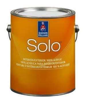 Solo™ 100% Acrylic Interior Exterior Creates A Durable Finish That Is  Resistant To Burnishing, Wearing, And Blocking. Solo Is An Excellent Choice  For ...