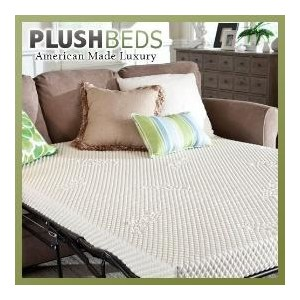 PlushBeds Latex Sofa Bed Mattress by The Natural Latex Company