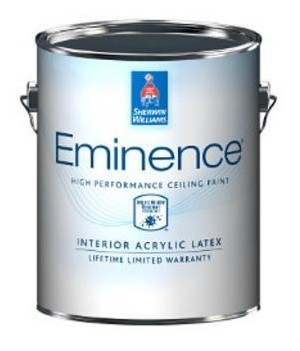 Eminence High Performance Interior Latex Ceiling Paint, A27W02815 By Sherwin  Williams Company   Built Environment
